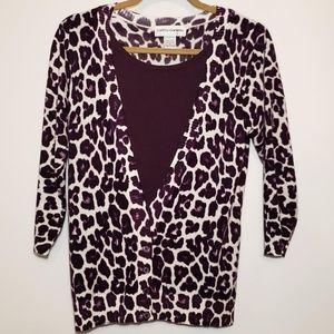 🛍Cathy Daniels women's layered sweater size small